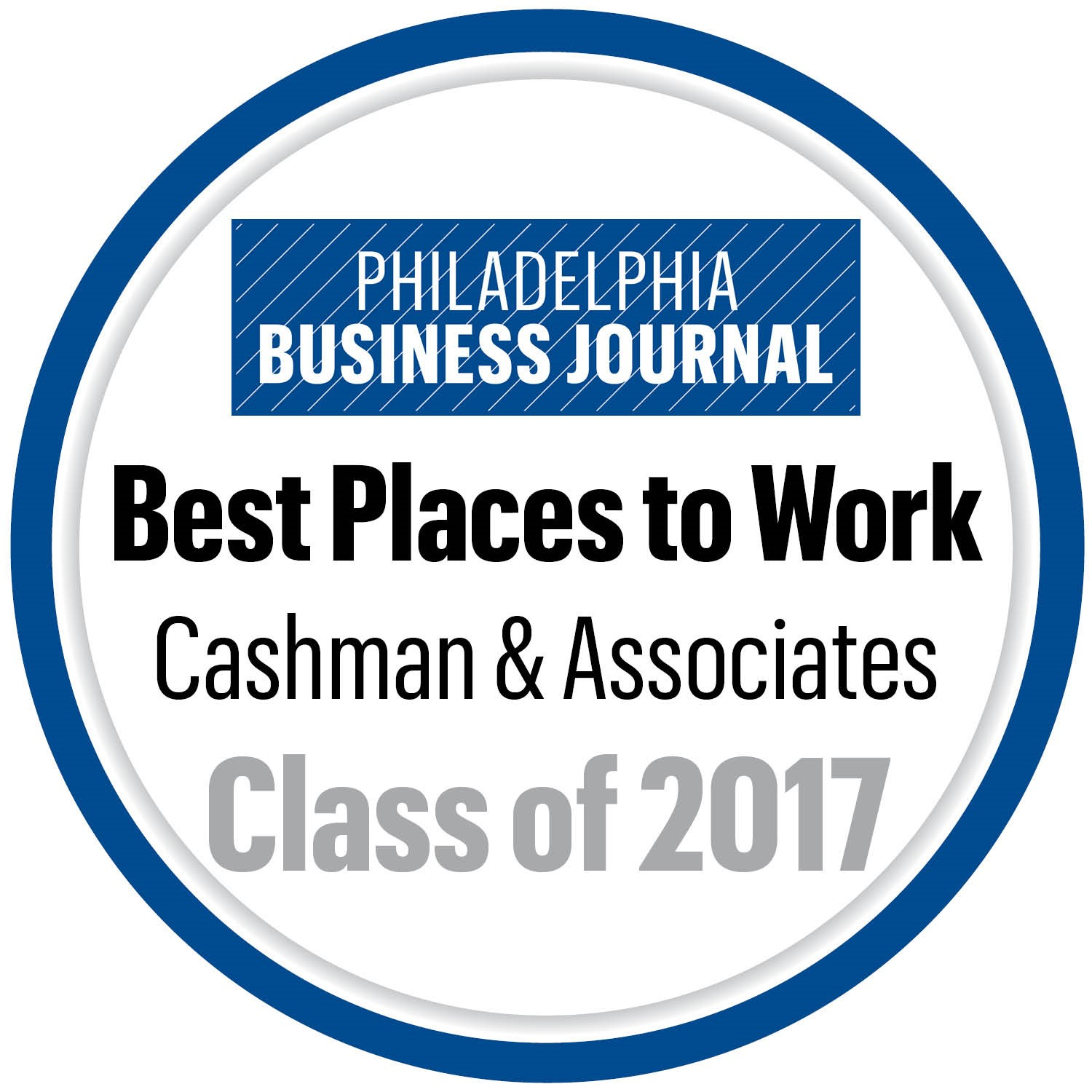 Philadelphia Business Journal Best Places to Work 2017